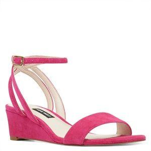"""Nine West Pink """"Lewer"""" Sandal"""